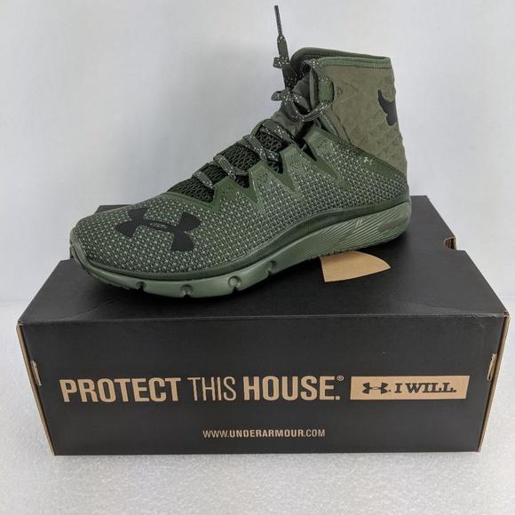 b2c86f87 Under Armour Shoes | Ua Rock Delta Dna Green Black | Poshmark